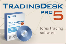 Trading Desk Pro is a forex trading software